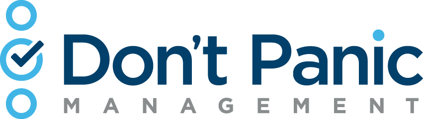 Don't Panic Management Logo