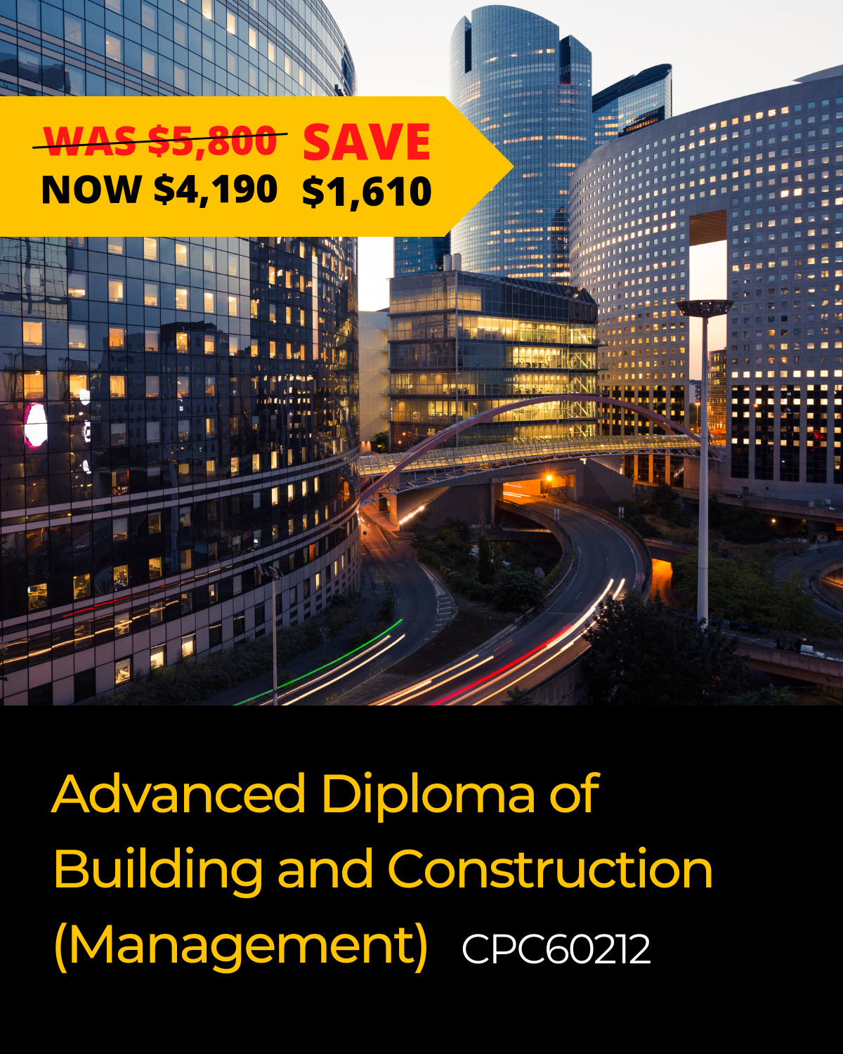 Advanced Diploma of Building and Construction (Management)