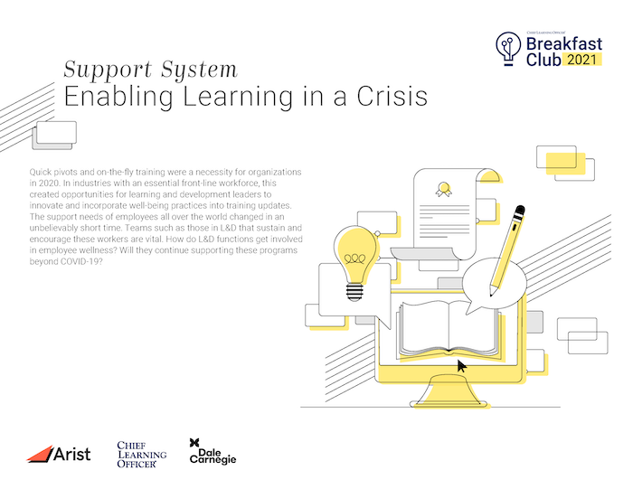 Support System: Enabling Learning in a Crisis