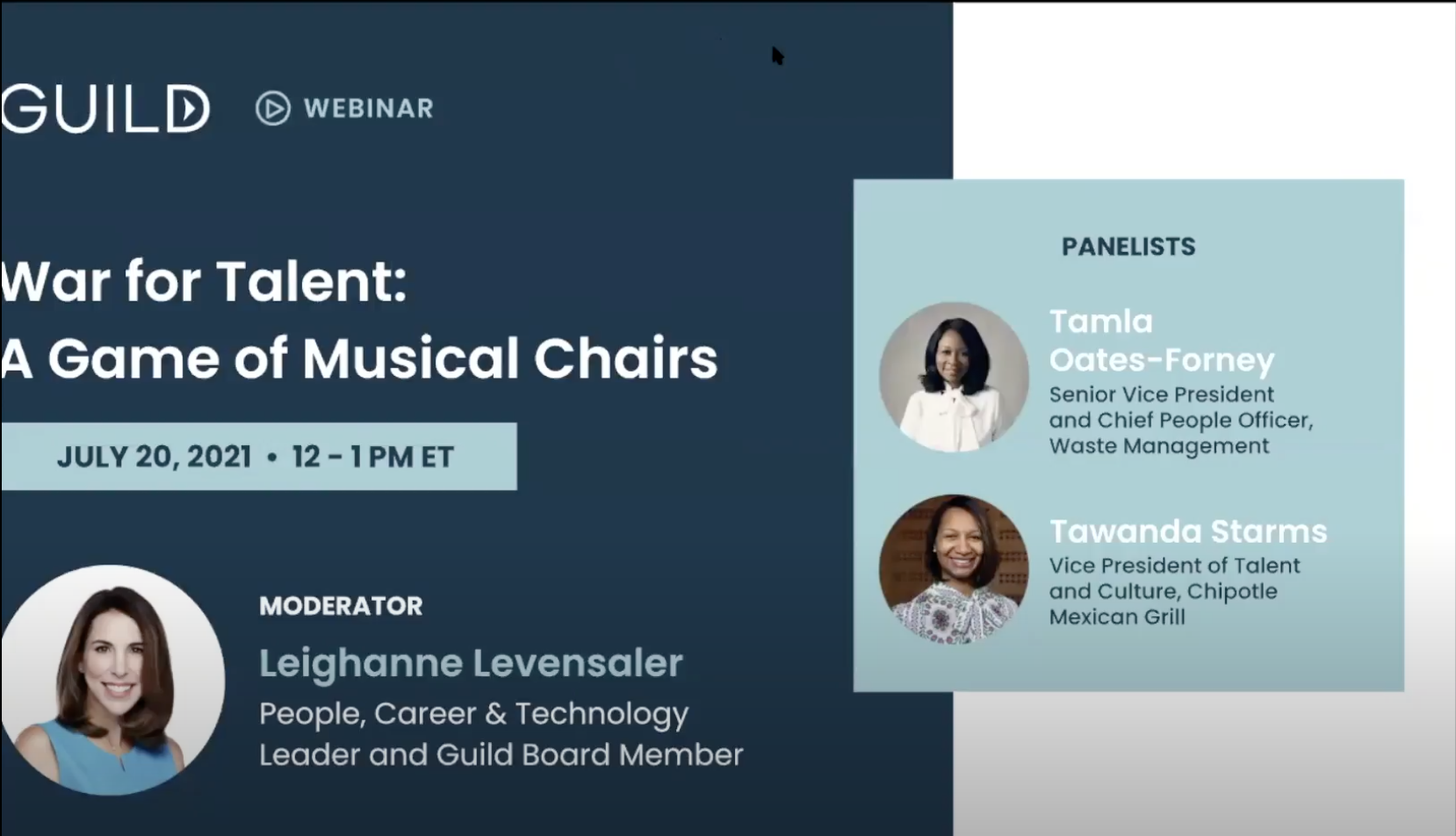 War for Talent: A Game of Musical Chairs