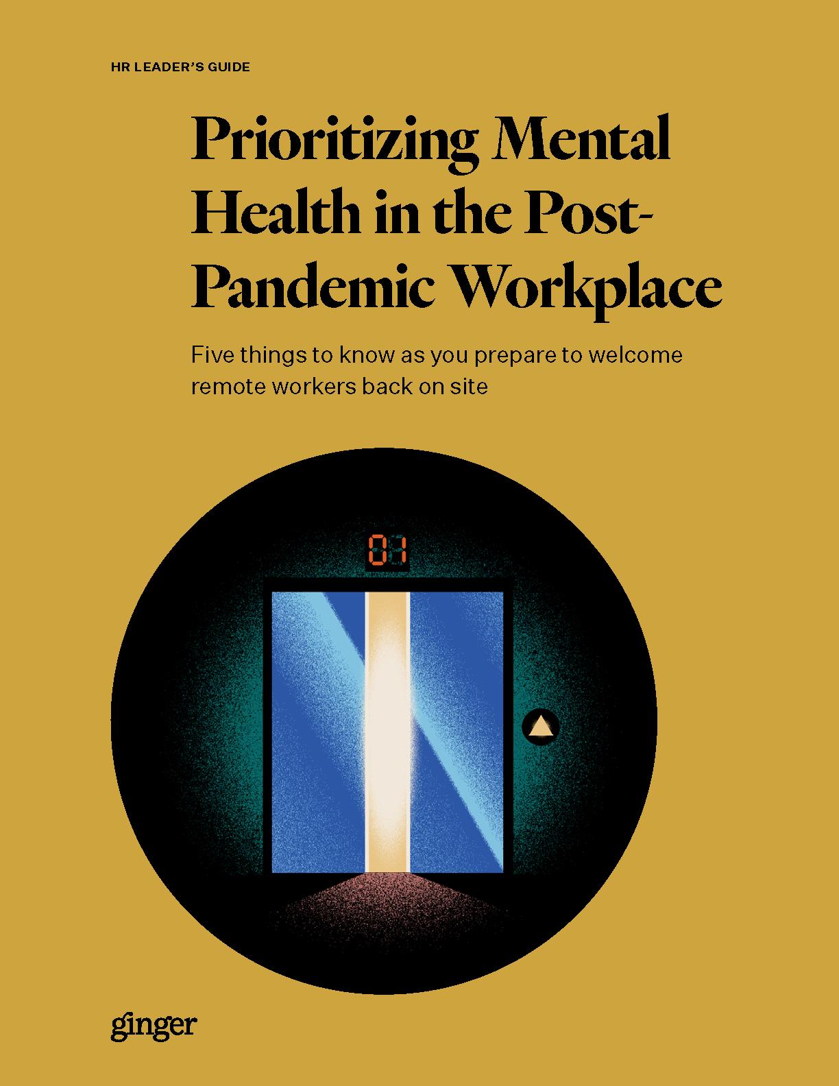 Prioritizing Mental Health as Part of Workforce Re-Entry