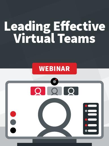 Remote Series: Leading Effective Virtual Teams