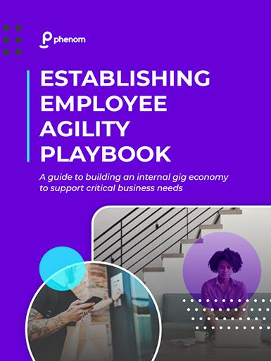 Establishing Employee Agility Playbook
