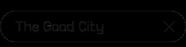 The Good City | Digital Summit 2021
