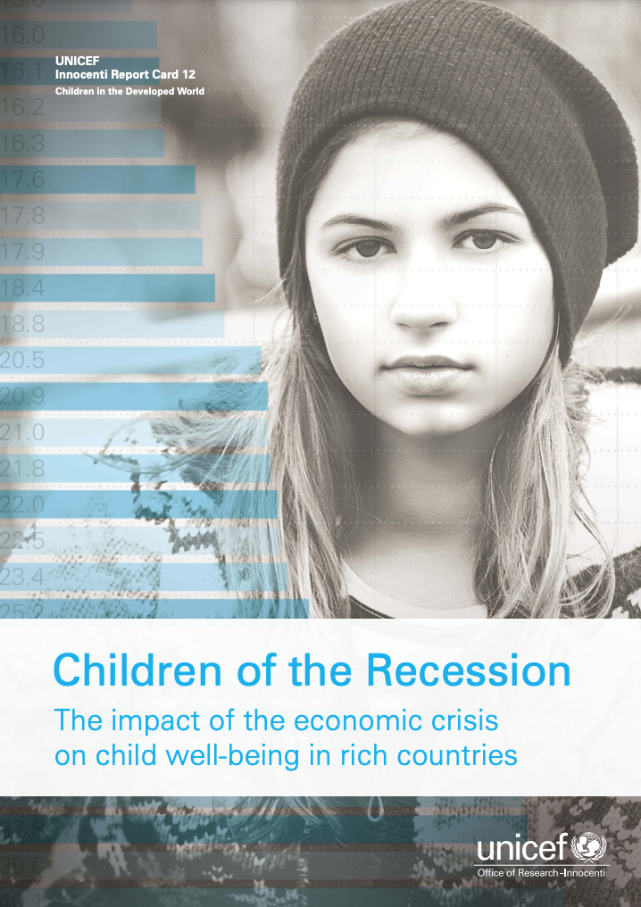 Children of the Recession The impact of the economic crisis on child well-being in rich countries