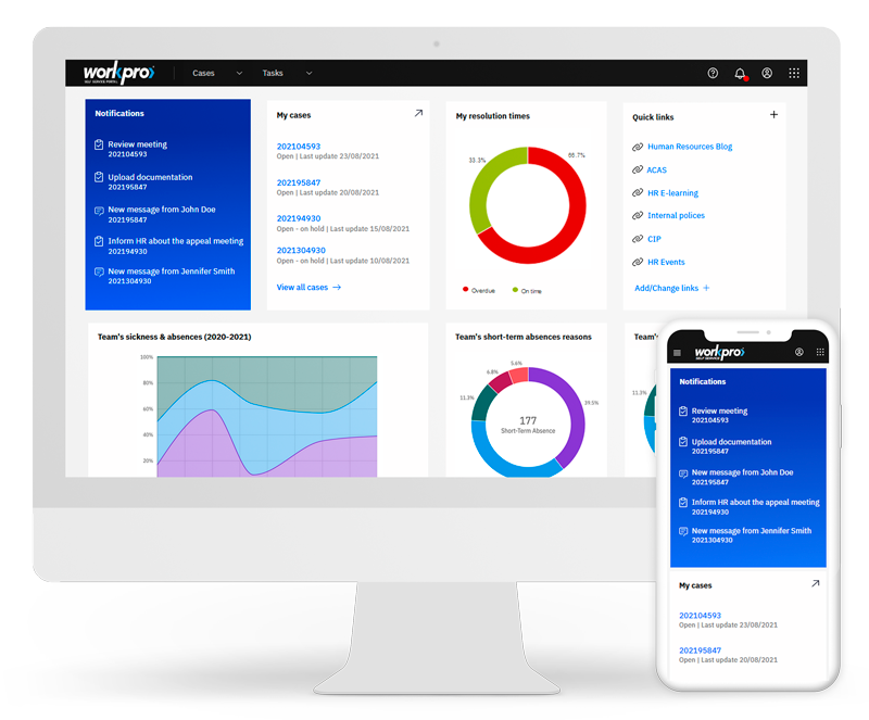 Line Manager Dashboard
