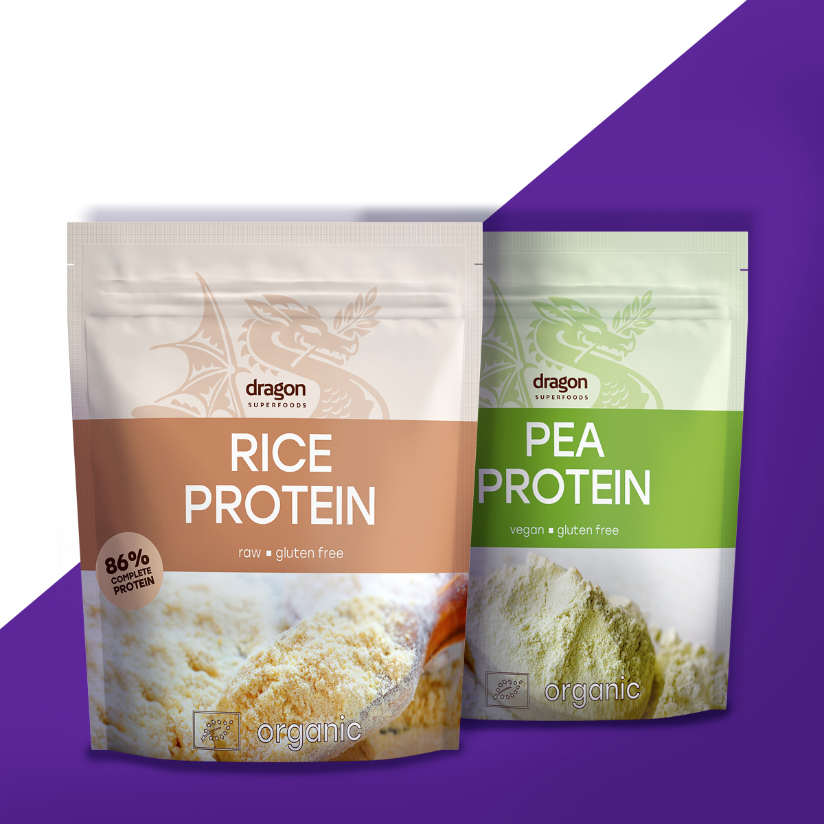 оризов и грахов протеин